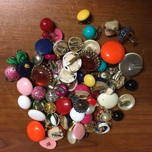 Vintage (40s) clip on earrings
